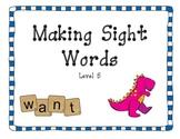 Making Sight Words - set 5
