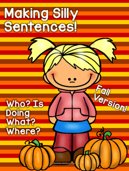 Making Silly Sentences Fall Edition