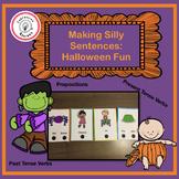 Making Silly Sentences : Halloween Fun