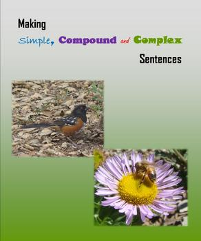 Making Simple, Compound and Complex Sentences