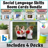 Social Language Skills Boom Cards™ Bundle Speech Therapy S