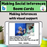 Making Social Inferences Boom Cards™ Speech Therapy Pragmatic Language Activity