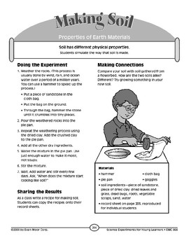 Making Soil (Properties of Earth Materials)