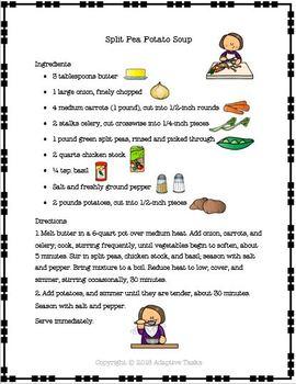 Making Soup Recipe Set