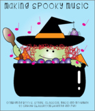 Making Spooky Music & Halloween Character Clipart Bundle