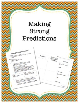 Making Strong Predictions