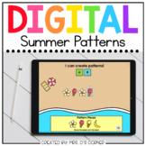 Making Summer Patterns Digital Activity | Distance Learning