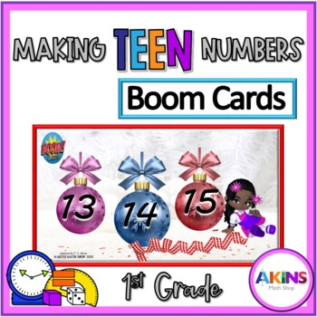 Making Teen Numbers Boom Cards