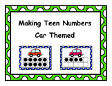 Making Teen Numbers Car Themed