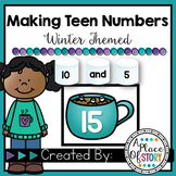 Making Teen Numbers- Winter Themed