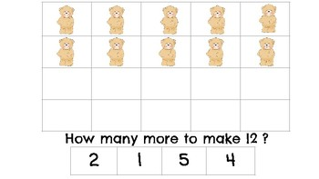 Making Teen Numbers with Manipulatives