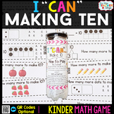 Kindergarten Making 10 Game