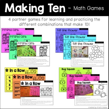 Making Ten - 4 Math Games