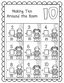 Making Ten Around The Room