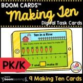 Making Ten Boom Cards™ Pre-K and Kindergarten Math Task Ca