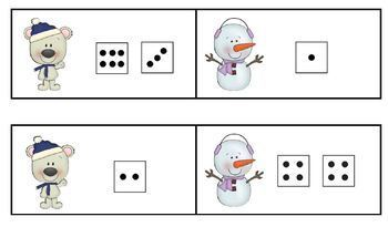 Making Ten  Composing and Decomposing 10 with Peguins and Polar Bears