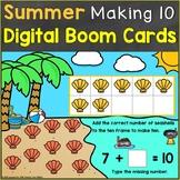 Making Ten Digital Boom Cards Kindergarten Core Standard K