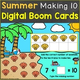 Making Ten Digital Boom Cards Kindergarten Core Standard K