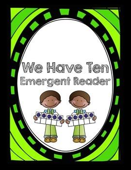 Making Ten Emergent Reader