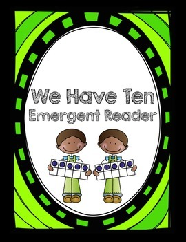 Making Ten Emergent Reader