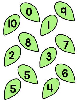 Number Bond Game - Flowers