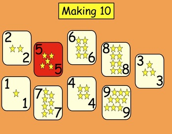 Making Ten: Interactive SMARTboard Game for Gr. 1