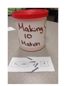 Making Ten Match