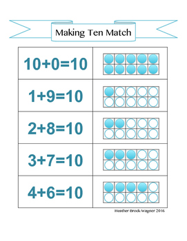 Making Ten Match