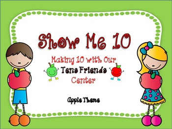 Making Ten Math Fluency with My Tens Friends BUNDLE