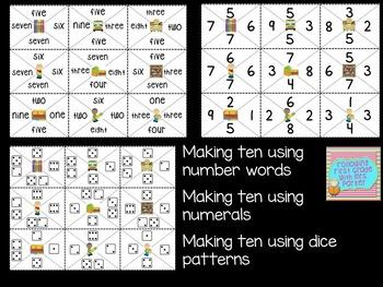 Making Ten Math Games