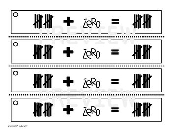 Making Ten Math Practice Strips