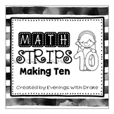 Making Ten Math Practice Strips