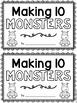 Making Ten Monsters! {mini book}