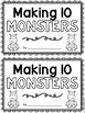 Making Ten Monsters! {mini book}
