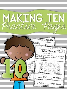 Making Ten Practice Sheets
