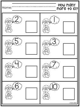 Making Ten Practice Sheets