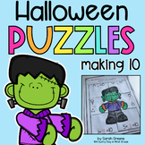Making Ten Halloween Addition Puzzles!
