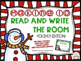 Making Ten Read and Write the Room- Holiday Edition