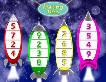 Making Ten Rocket Game