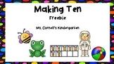 Making Ten Themed No Prep Freebie