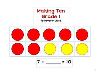 Making Ten (Unknown Numbers)