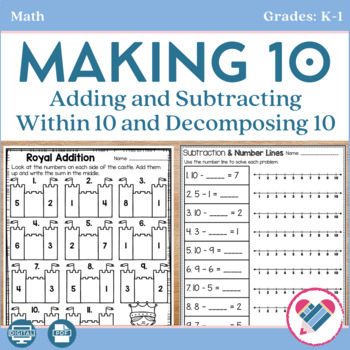 Making Ten and Adding and Subtracting Within 10