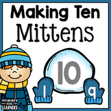 Number Bond Game - Mittens