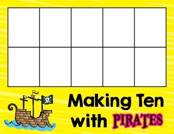 Making Ten with Pirates: A Math Freebie