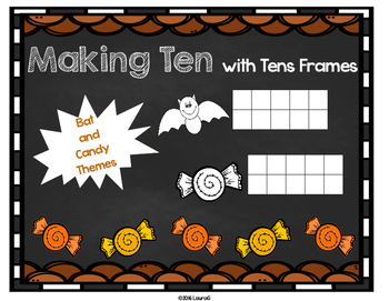 Making Ten with Tens Frames
