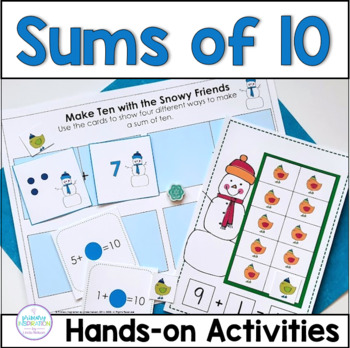 Making Ten with the Snowy Friends