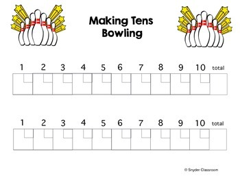 Addition Game : Making Tens