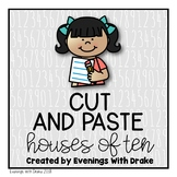 Making Tens Cut And Paste Activity Printables