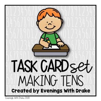 Making Tens Task Cards