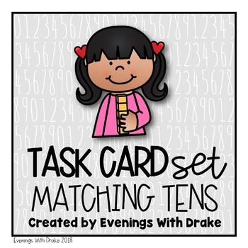 Making Tens Task Cards (Set 2)